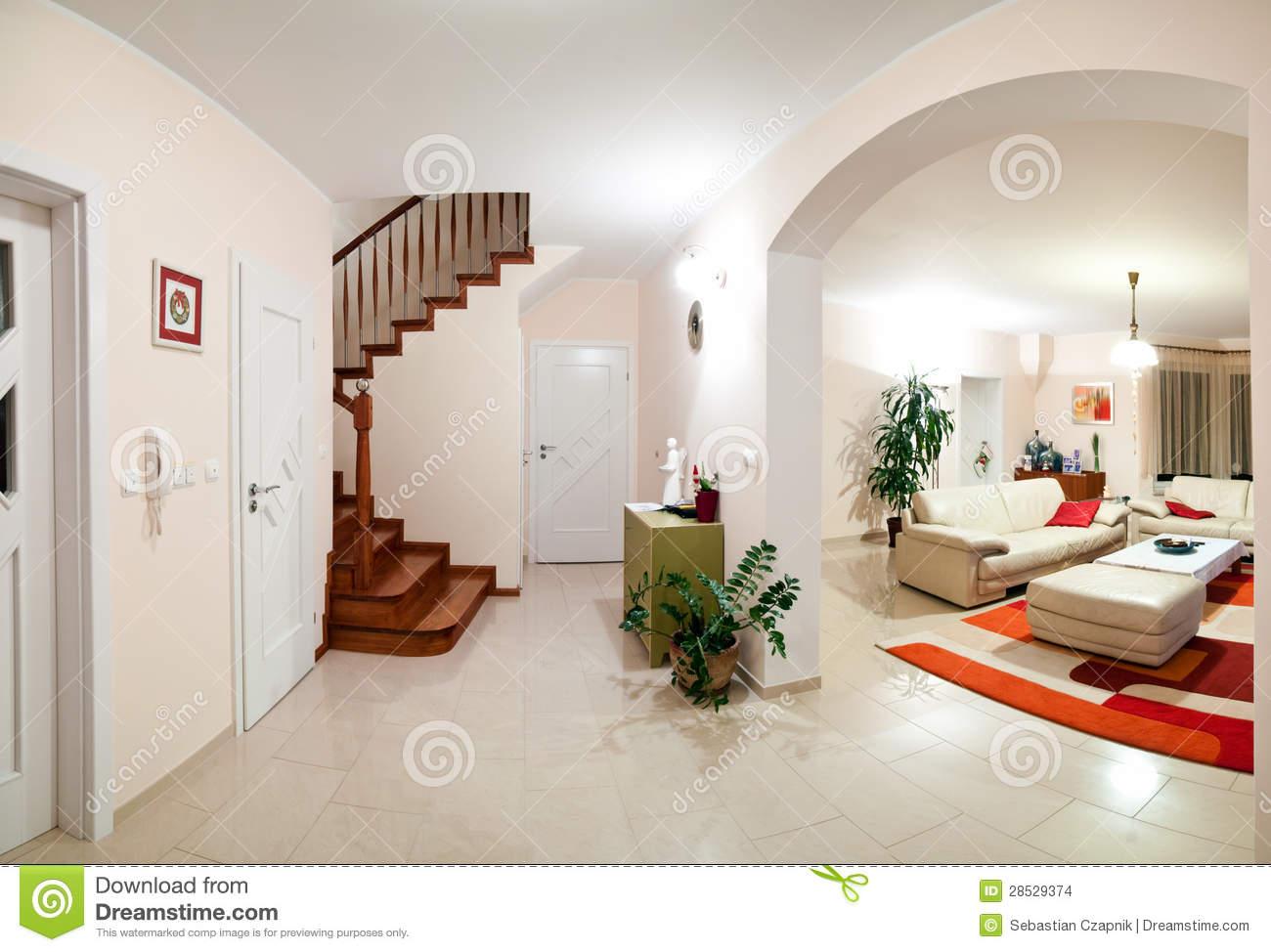 Modele de maison moderne interieur - Le monde de Léa