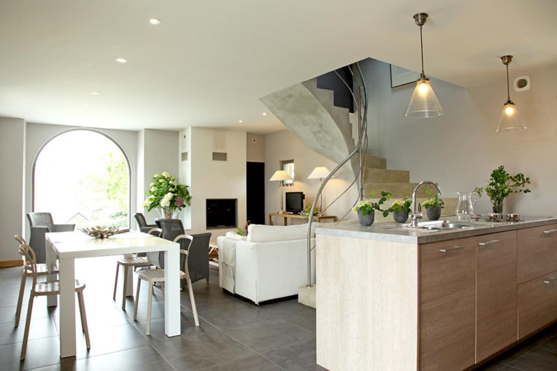 Maison contemporaine interieur