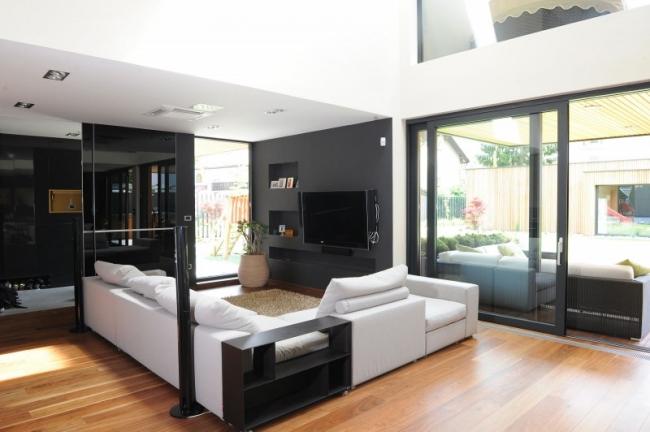 Interieur maison contemporaine - Le monde de Léa