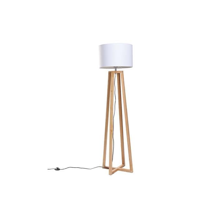 lampadaire bois scandinave le monde de l a. Black Bedroom Furniture Sets. Home Design Ideas