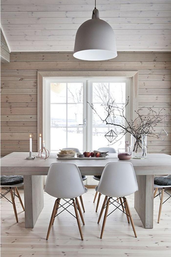 Salle A Manger Style Scandinave salle à manger style scandinave - le monde de léa