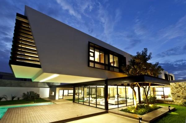 Maison architecte moderne - Le monde de Léa