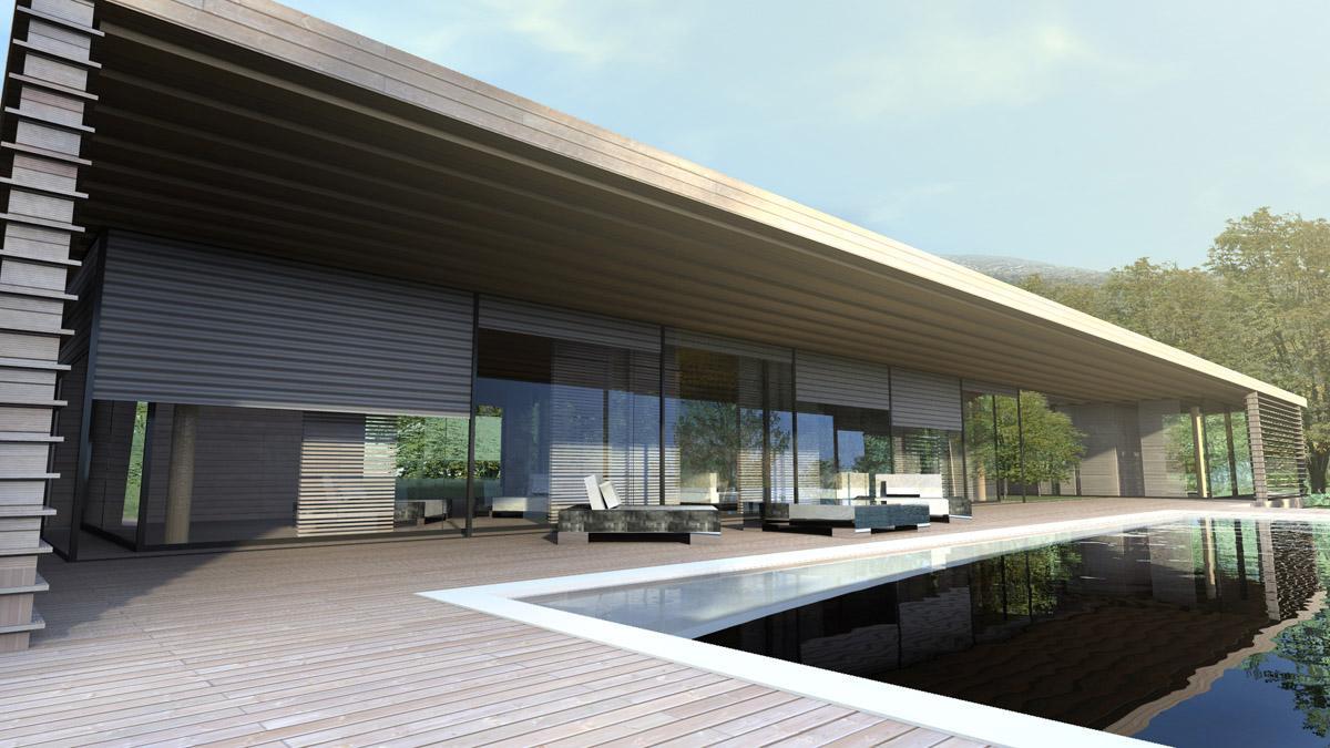 Maison villa moderne le monde de l a - Maison d architecte moderne ...