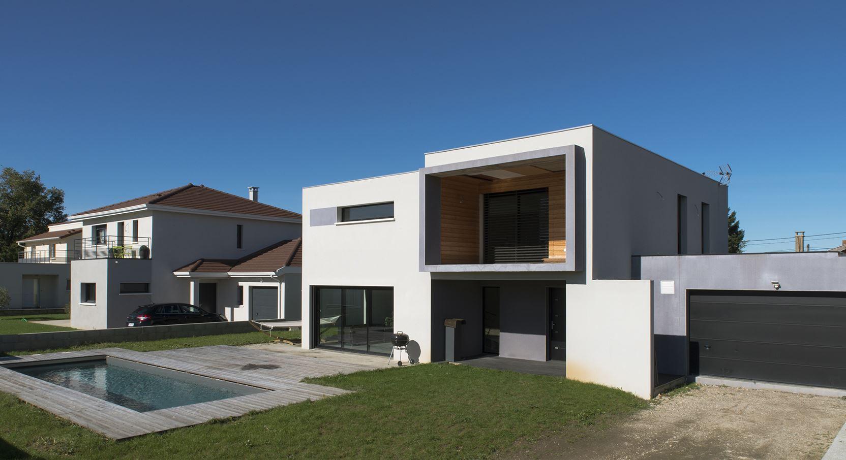 Architecte maison contemporaine - Le monde de Léa