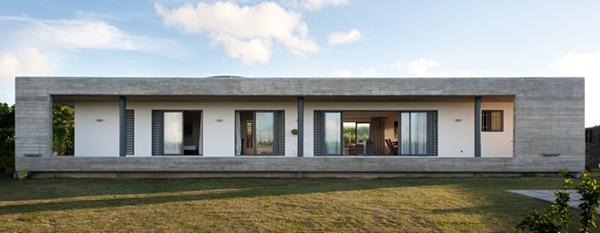 Maison contemporaine rectangulaire - Le monde de Léa