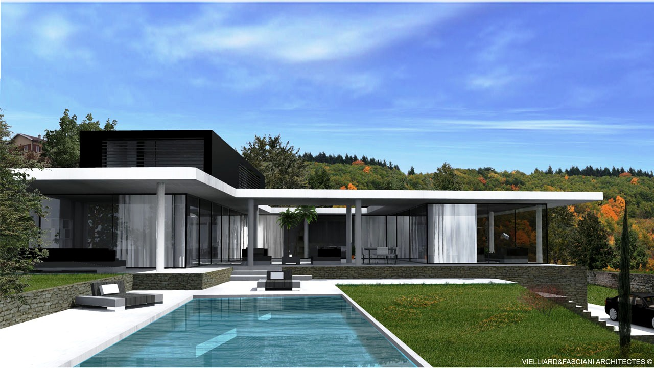 Le monde de l a je vous partage tout for Architecture moderne maison individuelle