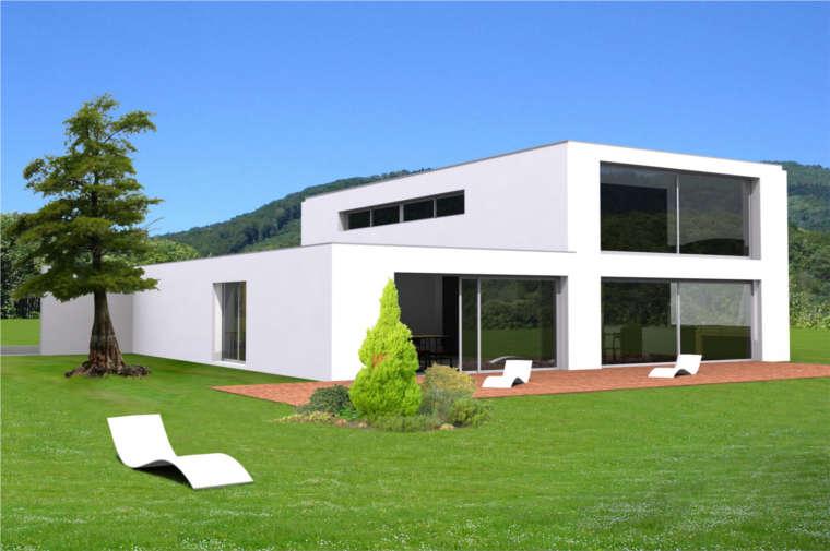 Constructeur maison toit plat - Le monde de Léa