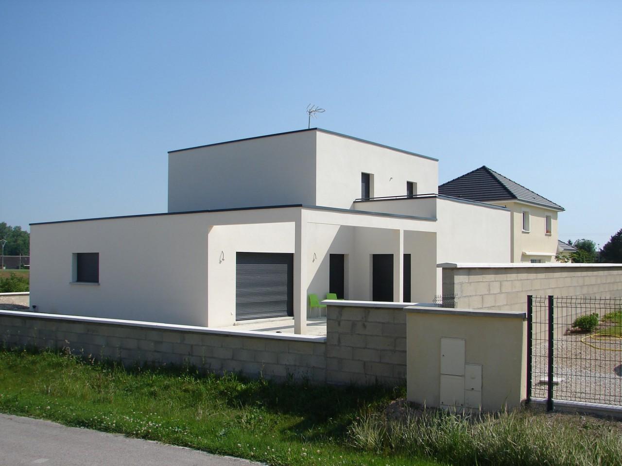 Modele de maison cubique le monde de l a for Modele de maison cubique