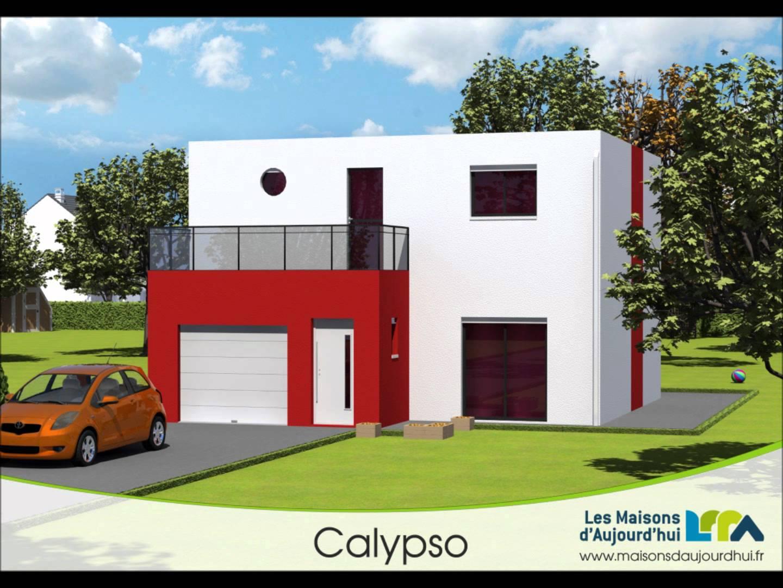 Maison duplex moderne le monde de l a for Maison duplex moderne