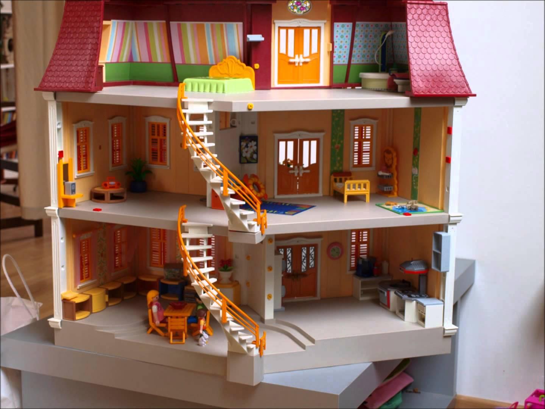 Maison play mobile le monde de l a for Le monde de la maison