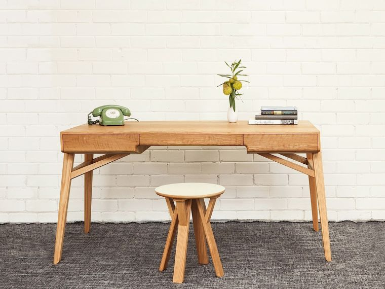 Meuble bois scandinave le monde de l a for Meuble bureau scandinave