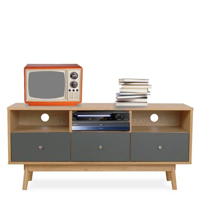 meuble tv scandinave pas cher le monde de l a. Black Bedroom Furniture Sets. Home Design Ideas