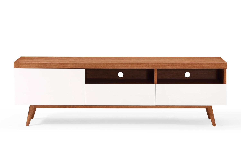meuble tv bois scandinave le monde de l a. Black Bedroom Furniture Sets. Home Design Ideas