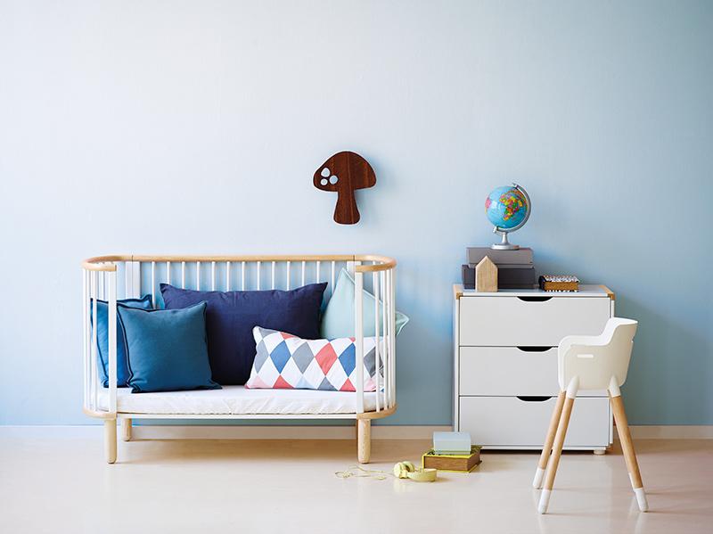 Chambre bebe design scandinave - Le monde de Léa