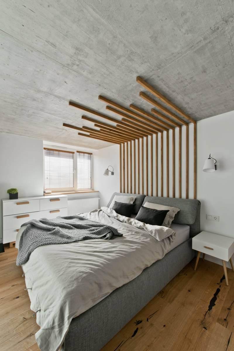 Chambre à coucher scandinave - Le monde de Léa
