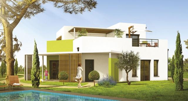 Model de villa moderne le monde de l a for Modele villa