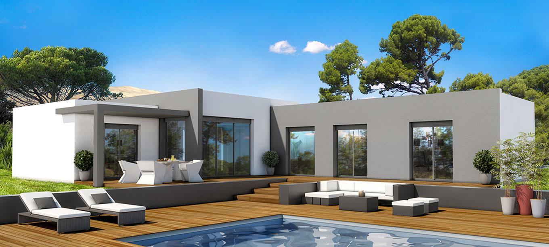 Exemple maison contemporaine le monde de l a for Modele de maison contemporaine architecte