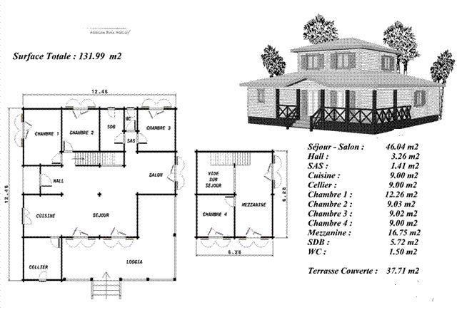 Exemple Plan Maison - Le Monde De Léa