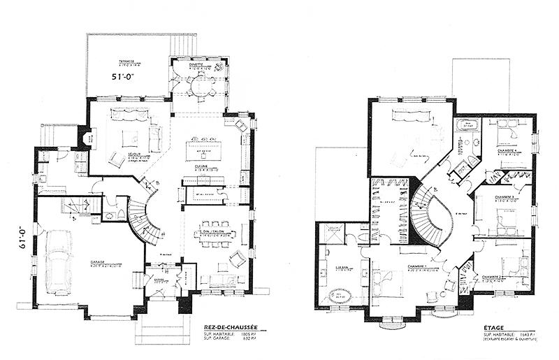 Le monde de l a je vous partage tout for Plans de villas modernes gratuits