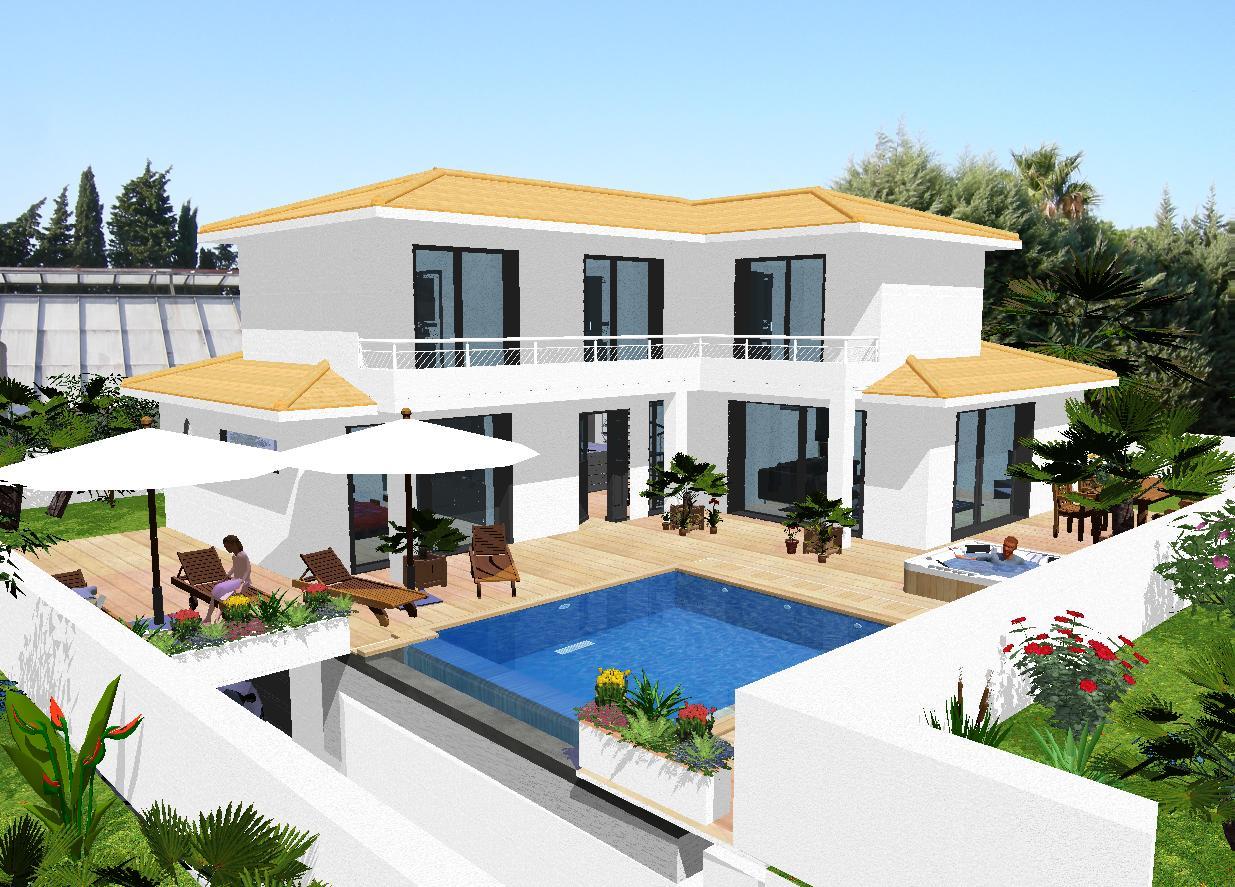Modele des maisons moderne le monde de l a for Modele des maisons moderne