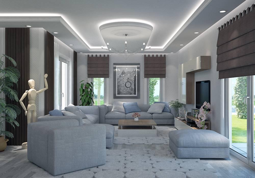 Mod le villa basse moderne le monde de l a for Villa basse moderne