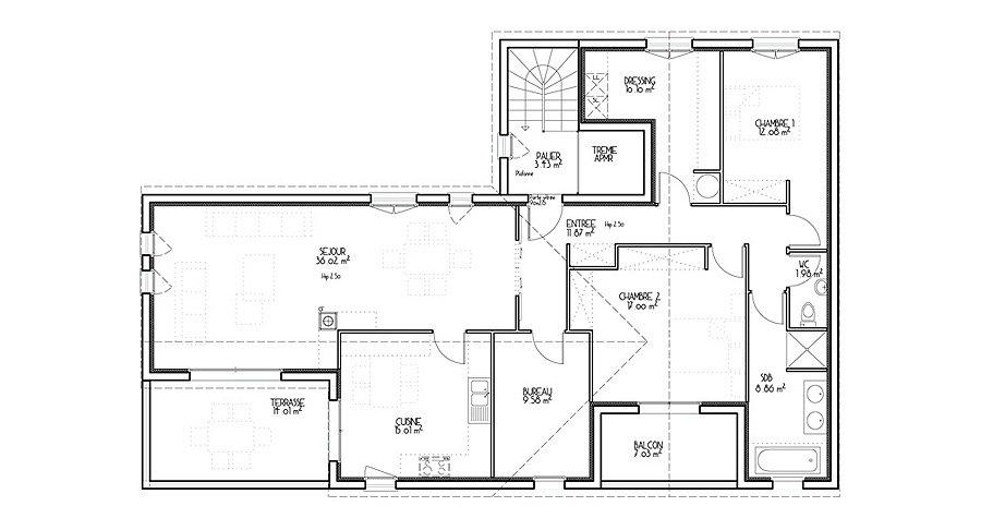 plan architecture maison - Plan D Architecte De Maison