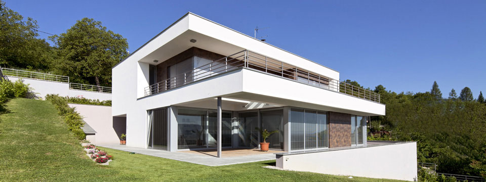 Modele de maison contemporaine a construire - Le monde de Léa
