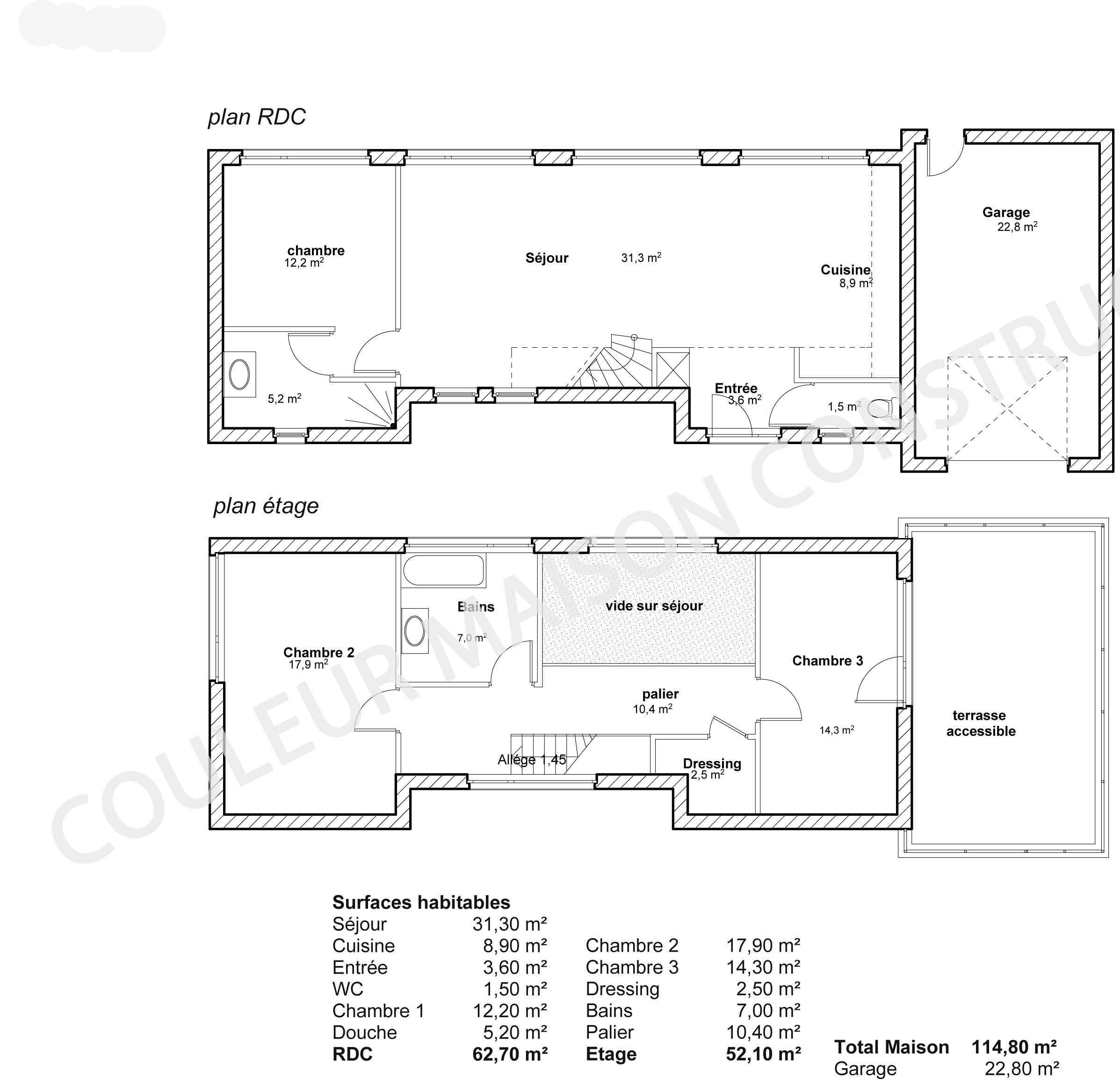 Modele de maison cubique le monde de l a for Modele maison cubique