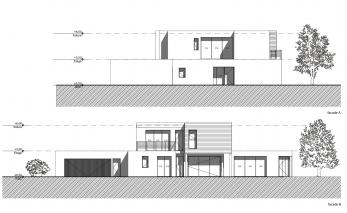 Maison moderne luxembourg le monde de l a for Plan maison californienne