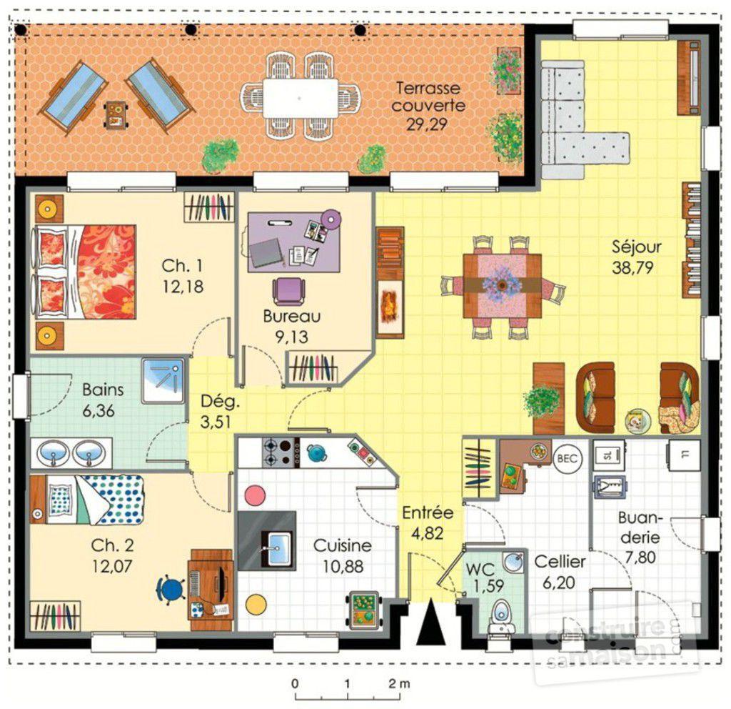 plan maison - Exemple De Plan D Une Maison