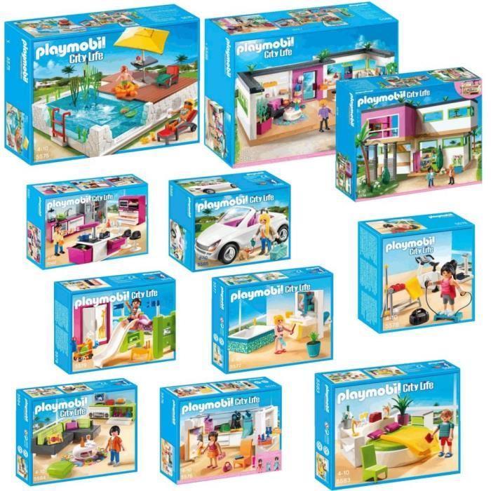 Playmobil maison moderne le monde de l a - Toute les maison playmobil ...