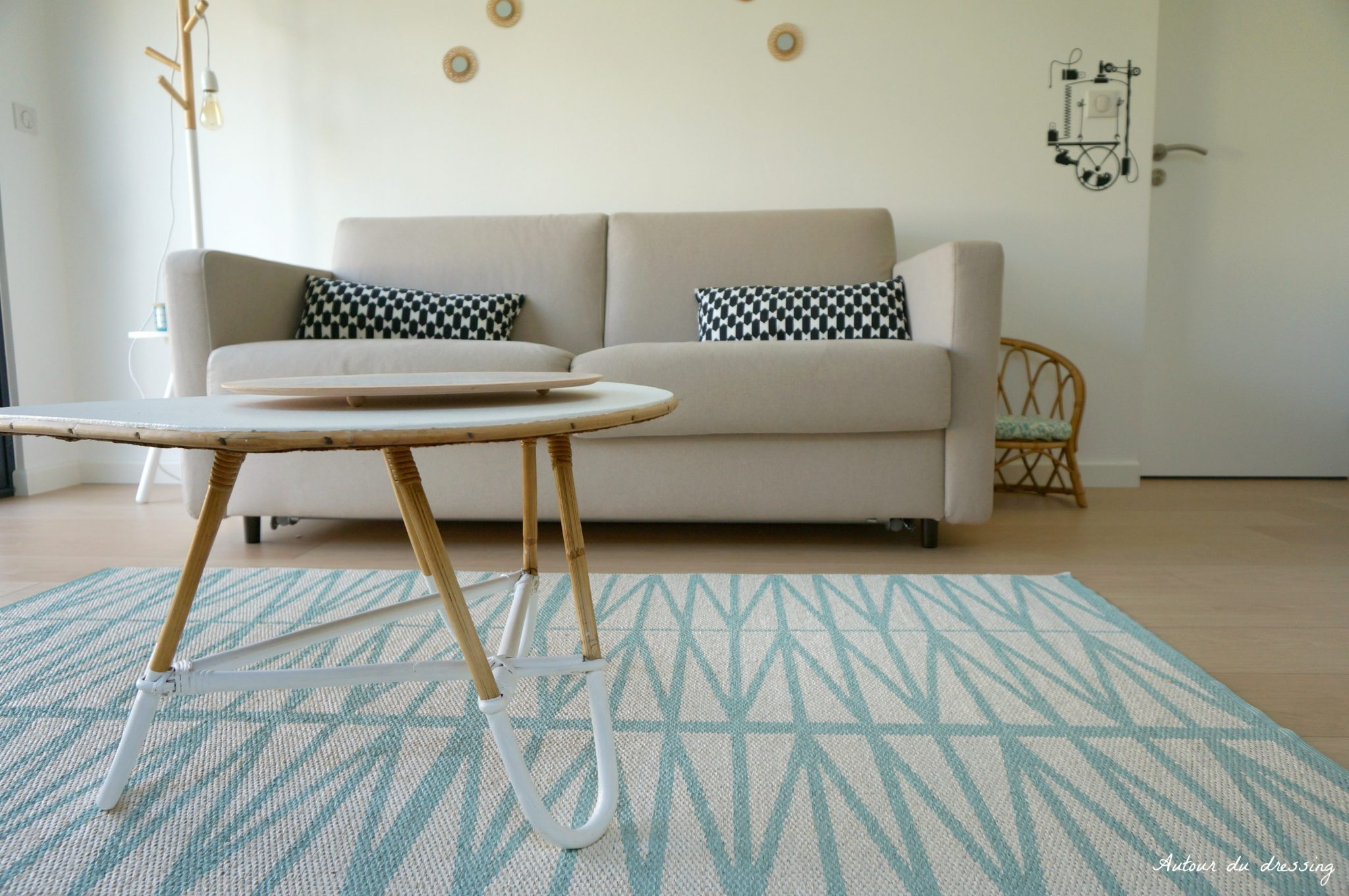 Tapis inspiration scandinave le monde de l a for Tableau salon scandinave