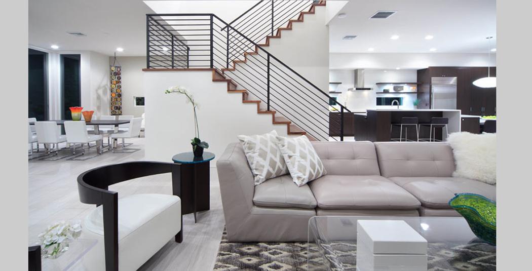 Architecture interieur maison moderne - Le monde de Léa