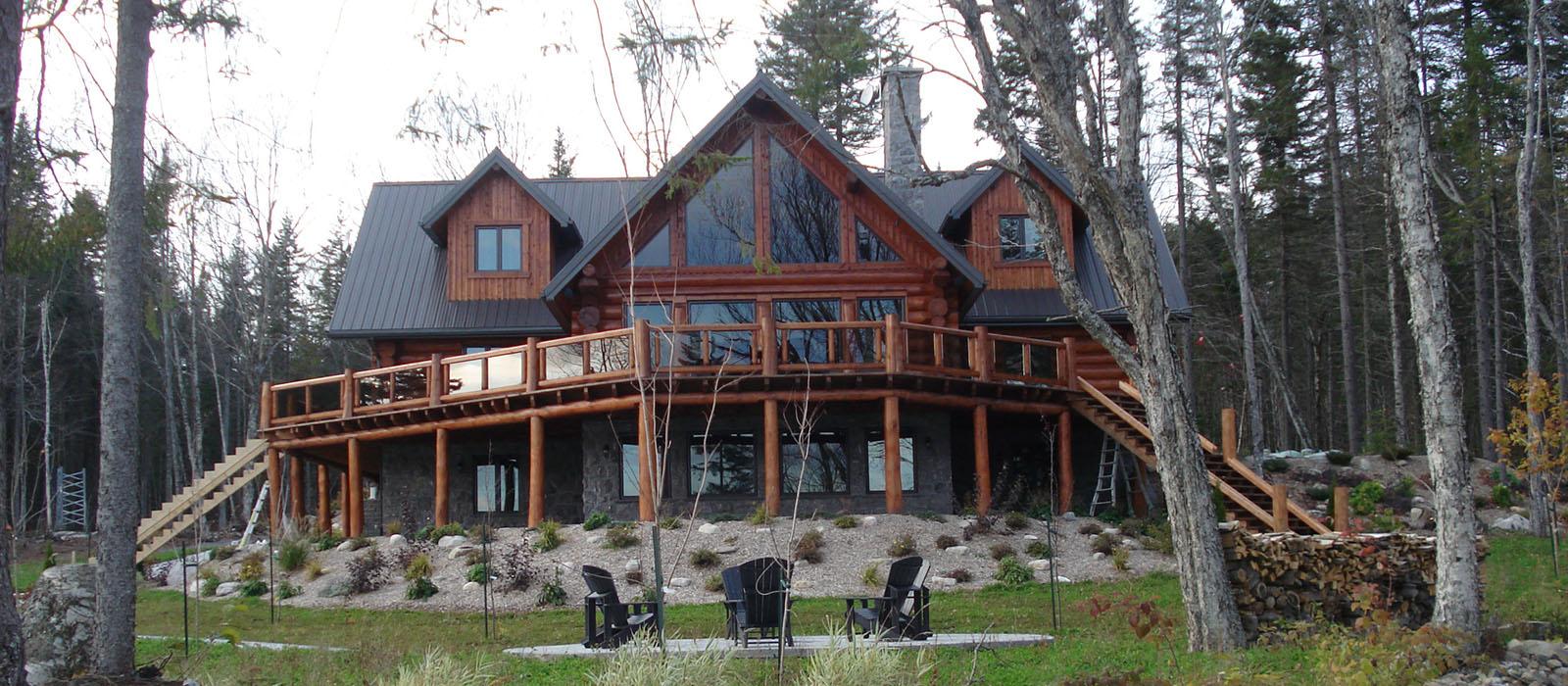 Le monde de l a je vous partage tout for Maison en bois moderne