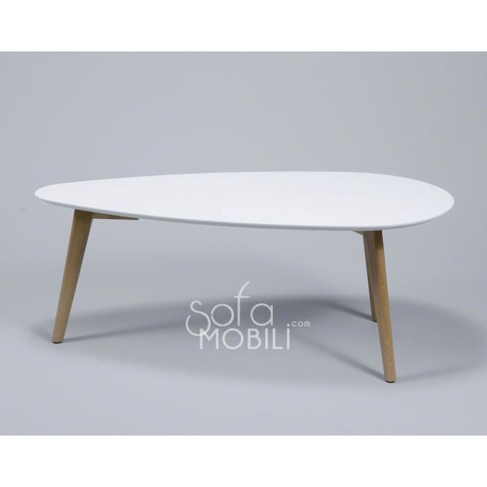 Table basse type scandinave le monde de l a for Table basse blanc scandinave