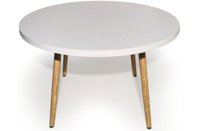 Table de salon style scandinave le monde de l a - Table ronde design scandinave ...