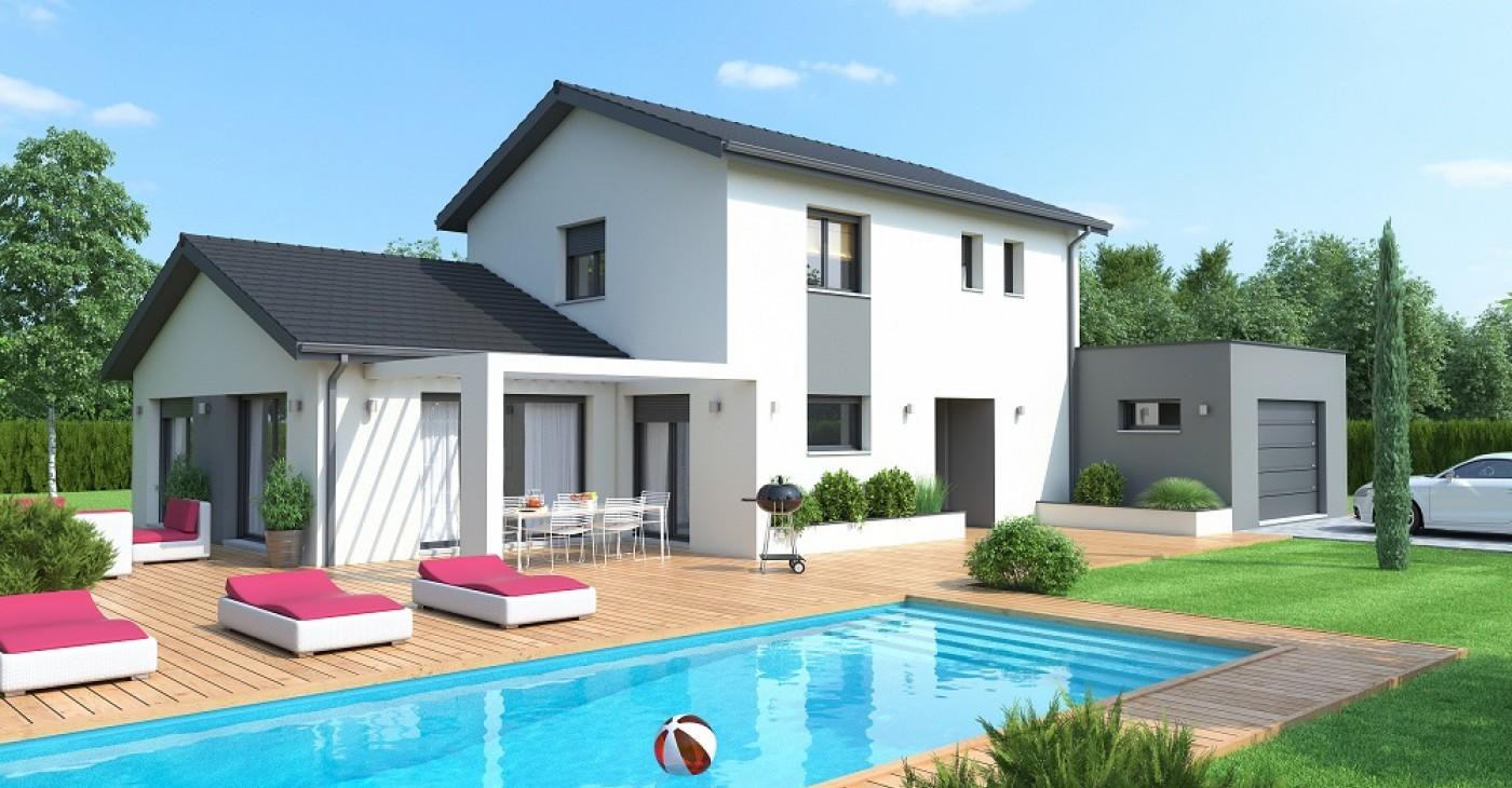 Populaire Style contemporain maison - Le monde de Léa NL97